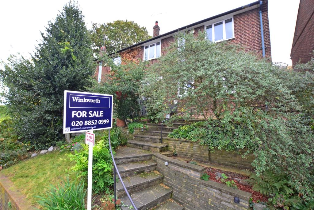 4 Bedrooms Semi Detached House for sale in Humber Road, Blackheath, London, SE3