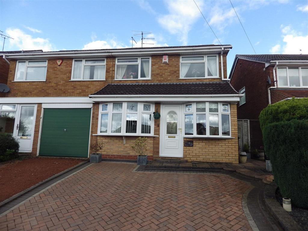 3 Bedrooms Semi Detached House for sale in Kenswick Drive, Halesowen