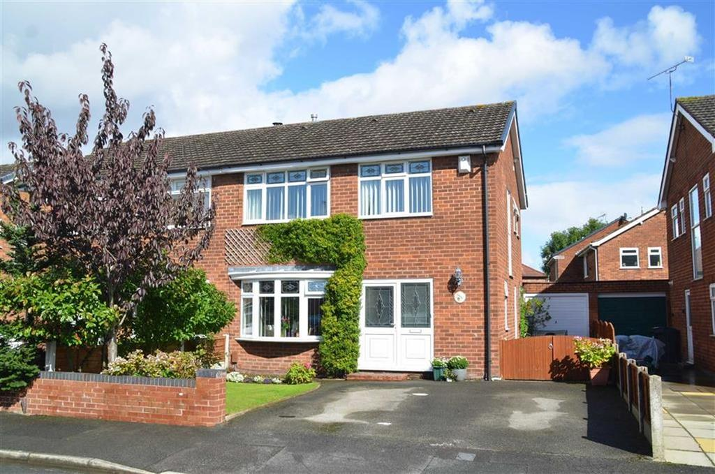 3 Bedrooms Semi Detached House for sale in Beechcroft Drive, Whitby, CH65