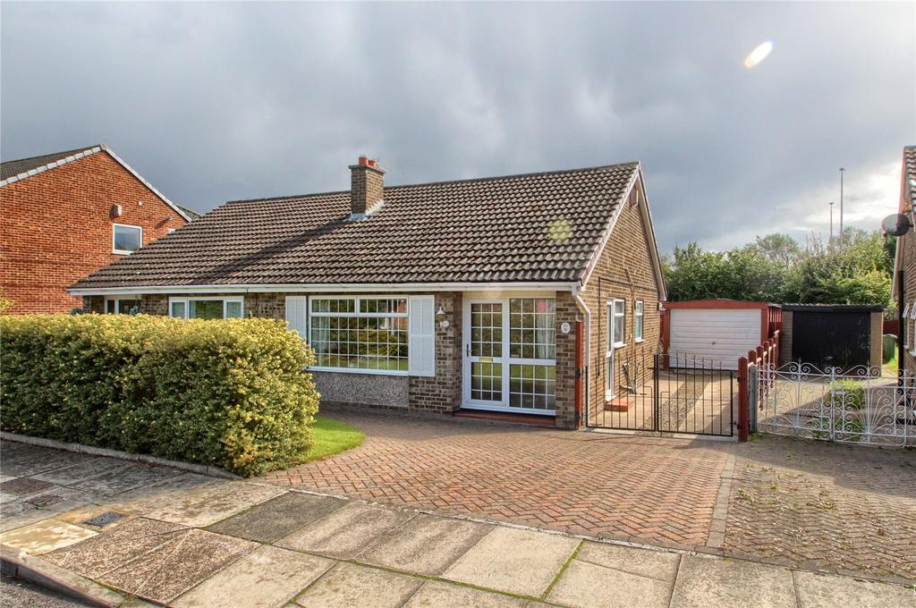 2 Bedrooms Semi Detached Bungalow for sale in Marykirk Road, Thornaby