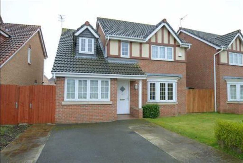 4 Bedrooms Detached House for sale in Trevorrow Crescent, Chesterfield, S40