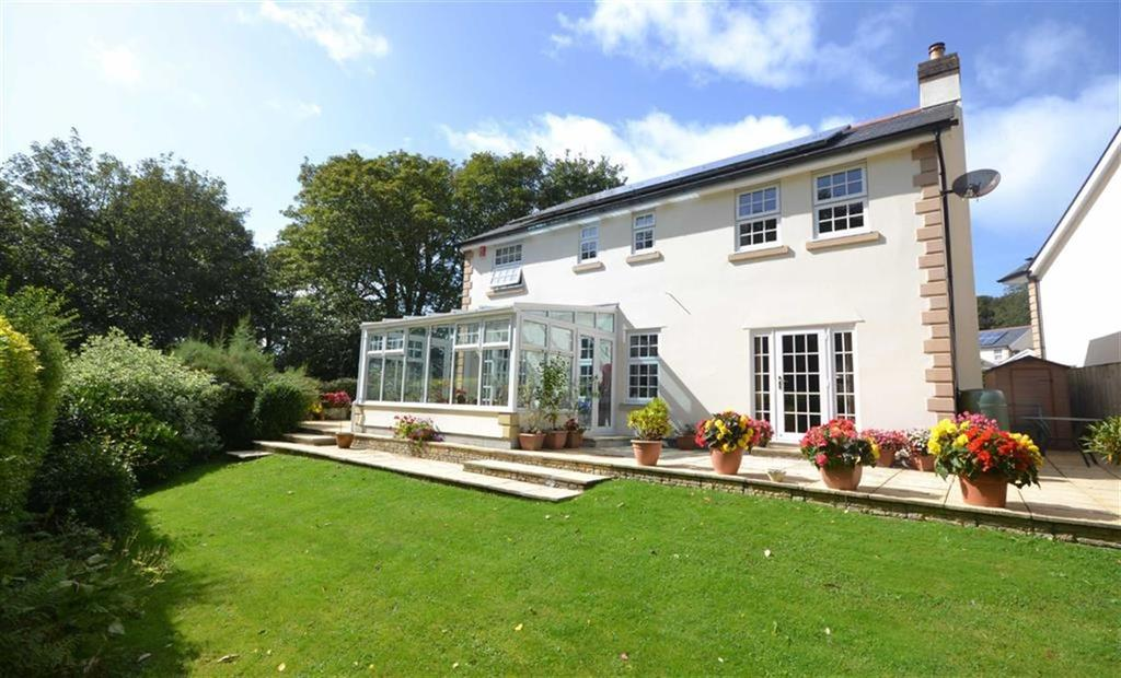 4 Bedrooms Detached House for sale in Tehidy Park, Tehidy, Camborne, Cornwall, TR14