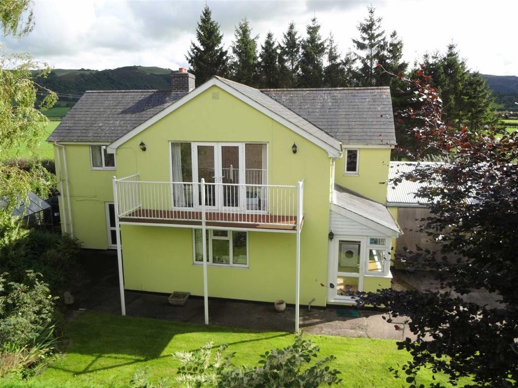 4 Bedrooms Detached House for sale in Greenfields House, Long Length, Caersws, Powys, SY17