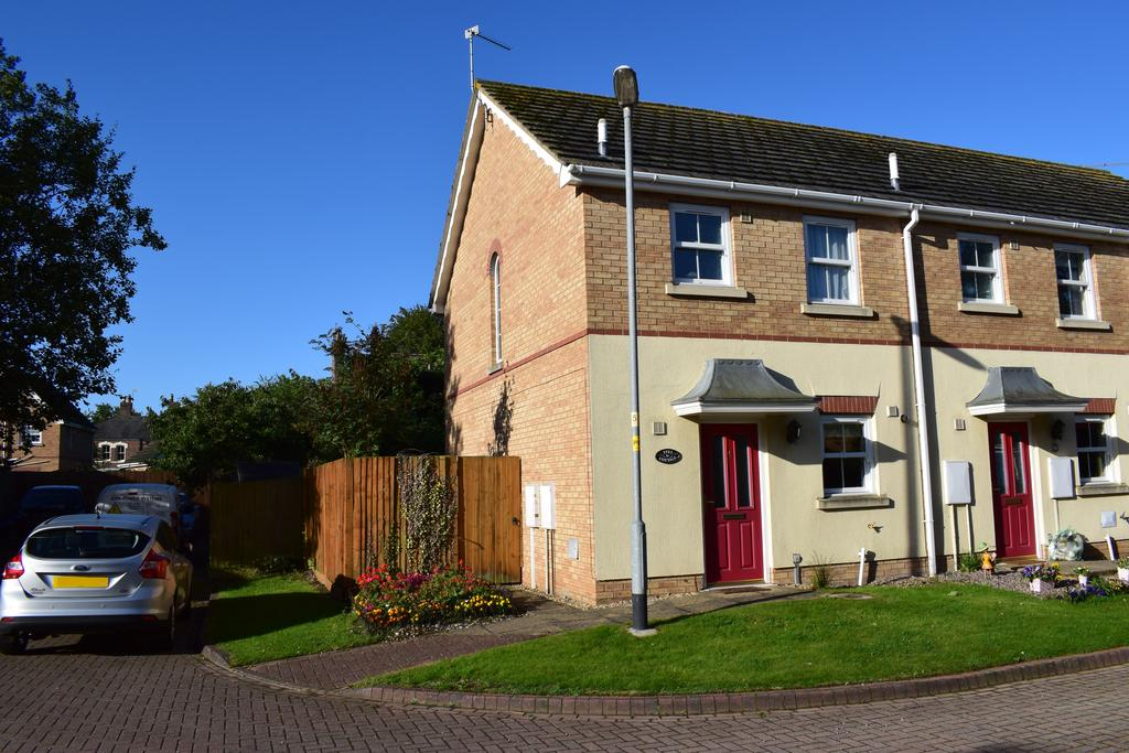 2 Bedrooms End Of Terrace House for sale in The Maltings, Long Sutton, Spalding, PE12 9EX