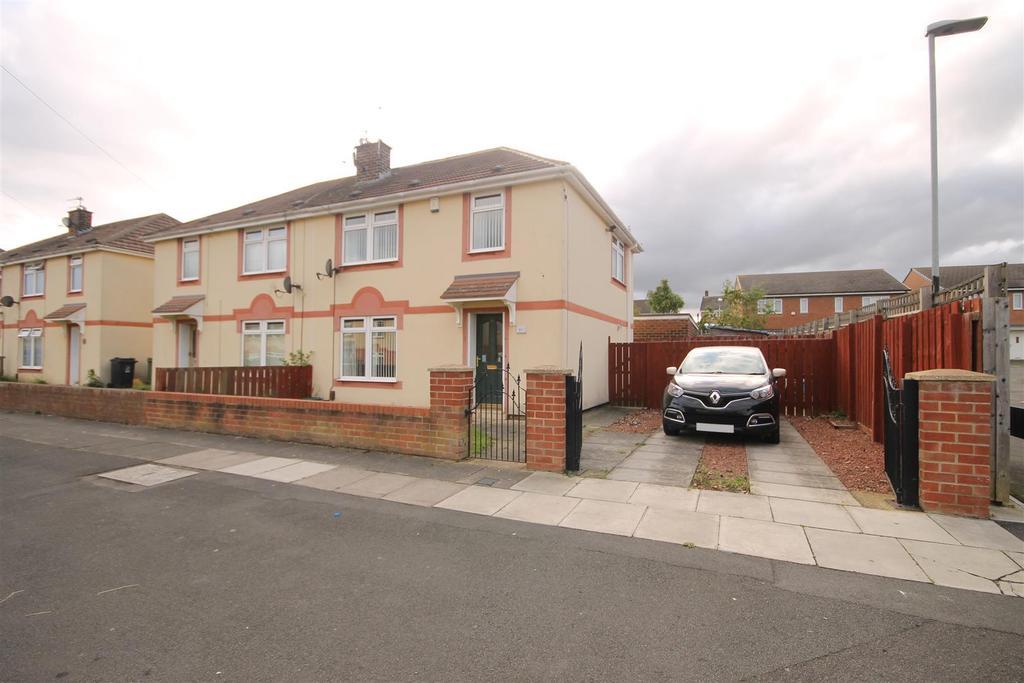 3 Bedrooms Semi Detached House for sale in Kipling Road, Rift House, Hartlepool