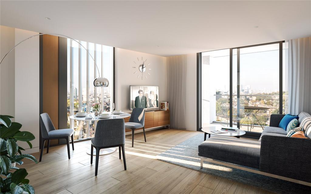 2 Bedrooms Flat for sale in Lewisham Gateway, Molesworth Street, London, SE13