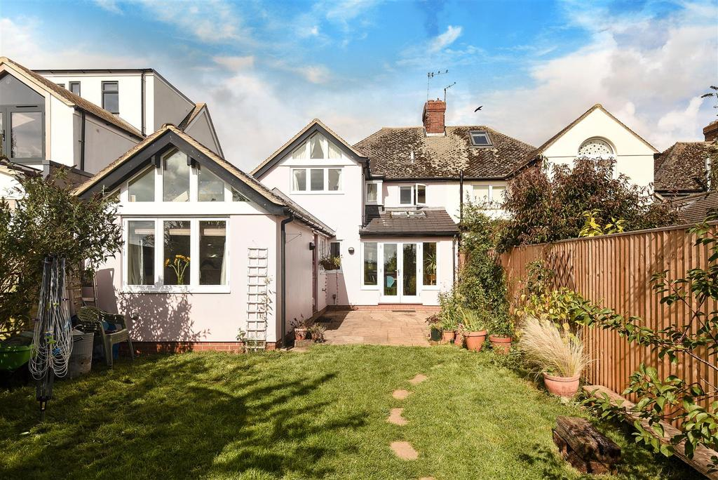 4 Bedrooms Semi Detached House for sale in Meadow Prospect, Wolvercote