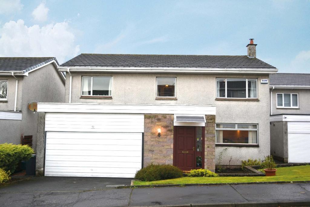 4 Bedrooms Detached House for sale in Highfields, Dunblane, Stirling, FK15 9EQ
