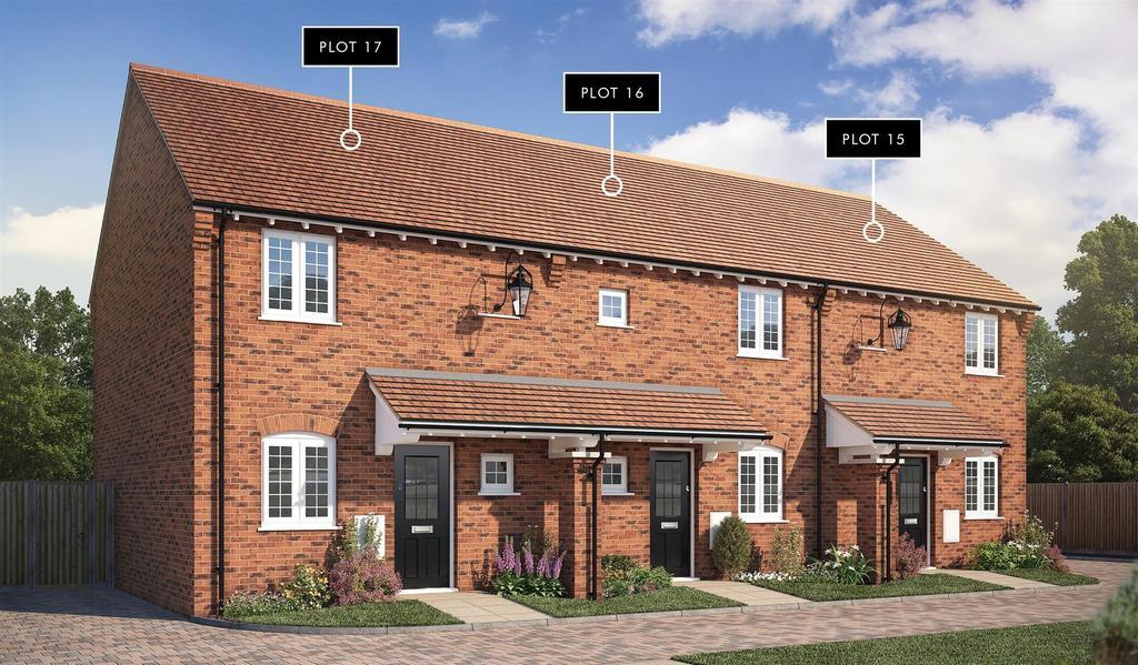 2 Bedrooms Terraced House for sale in Wychbury Fields, Kidderminster Road, Hagley