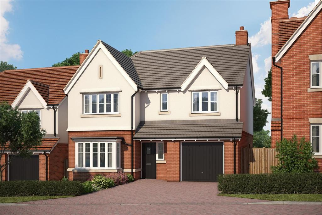 4 Bedrooms Detached House for sale in Wychbury Fields, Kidderminster Road, Hagley