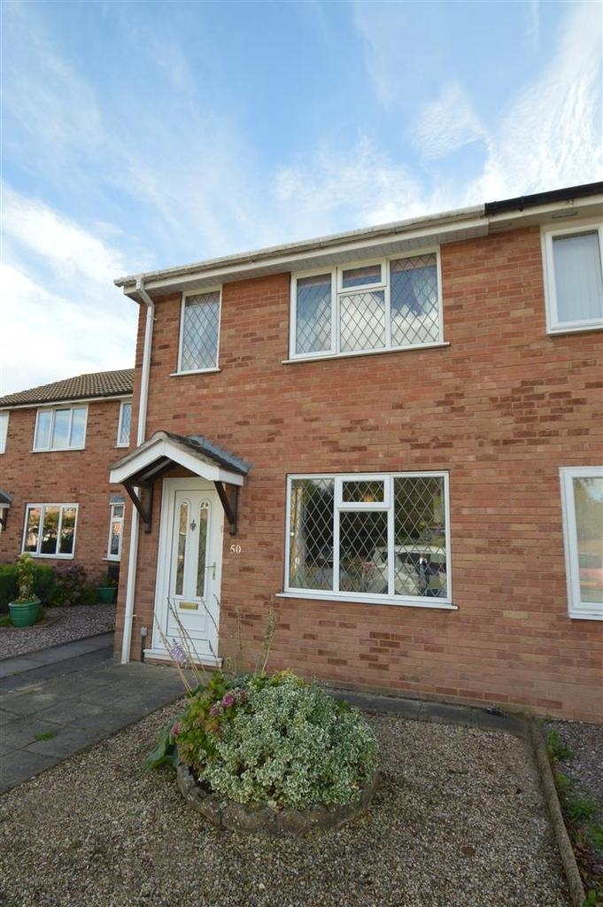 2 Bedrooms Terraced House for sale in 50 Shaw Road, The Chilterns, Shrewsbury SY2 5XP