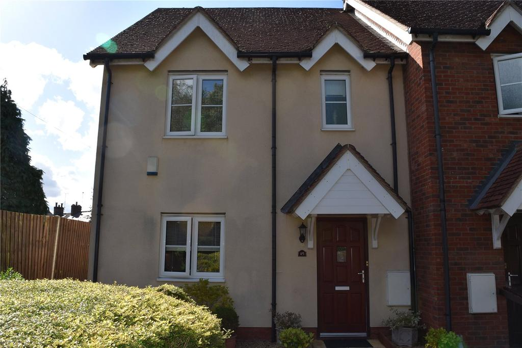 3 Bedrooms End Of Terrace House for sale in Red Lion Court, Woburn Road