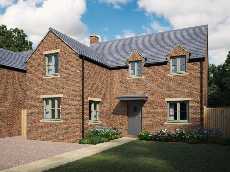 4 Bedrooms Detached House for sale in Plot 9, Noral Way, Banbury, Oxfordshire