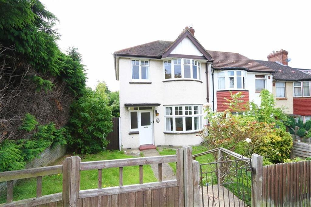 3 Bedrooms End Of Terrace House for sale in Ankerdine Crescent, Shooters Hill, London, SE18