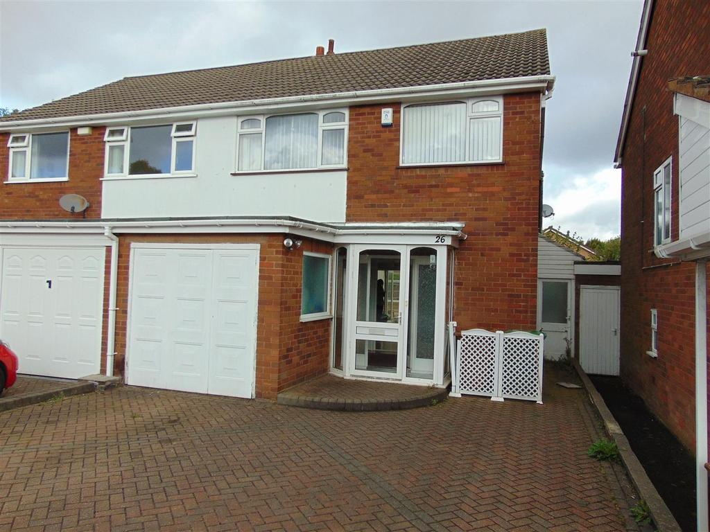 3 Bedrooms Semi Detached House for sale in Cranleigh Close, Aldridge