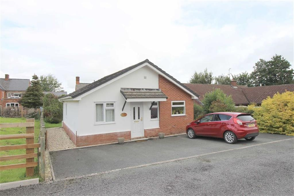 2 Bedrooms Detached Bungalow for sale in Bryn Tirion, Sale Lane, Trewern, Welshpool, Powys, SY21