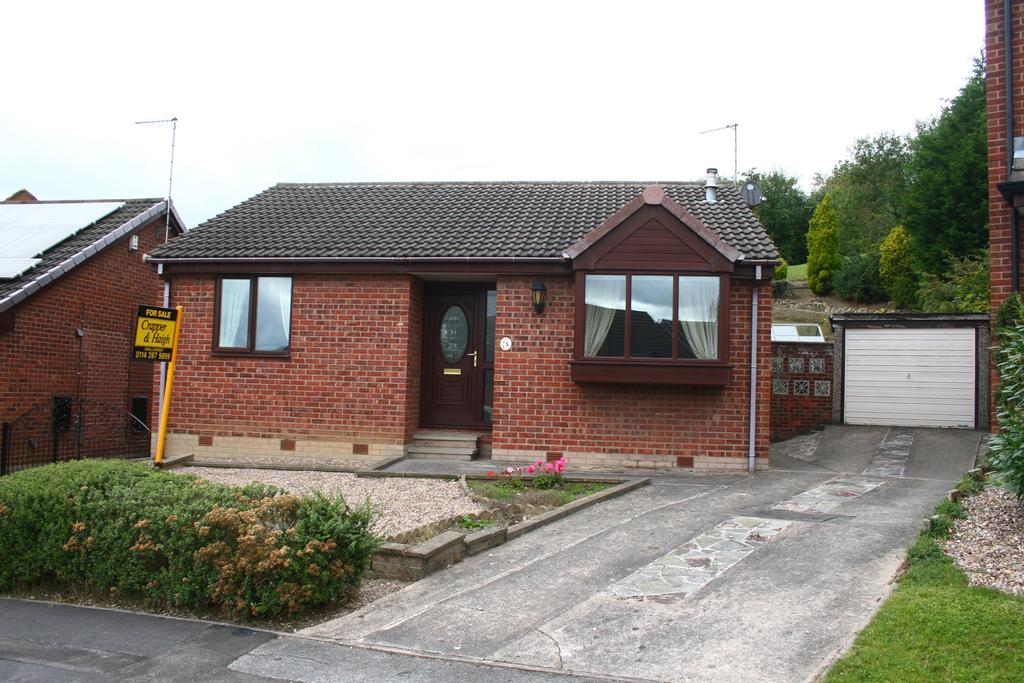 2 Bedrooms Detached Bungalow for sale in Eden Glade, Swallownest, Sheffield S26