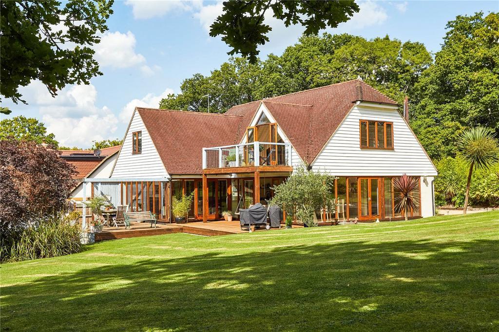 4 Bedrooms Detached House for sale in Uckfield Lane, Hever, Edenbridge, Kent, TN8