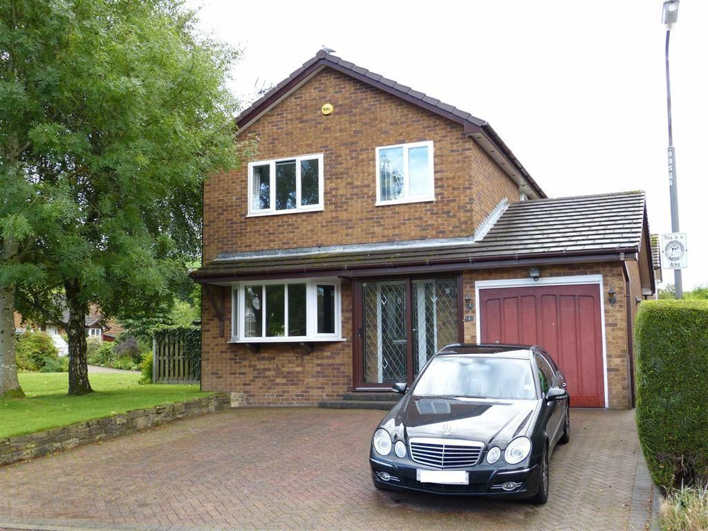 4 Bedrooms Detached House for sale in Winnats Close, Glossop, Glossop
