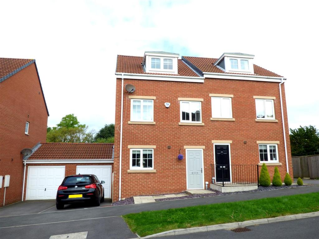 3 Bedrooms Town House for sale in Finchale View, West Rainton, Houghton Le Spring