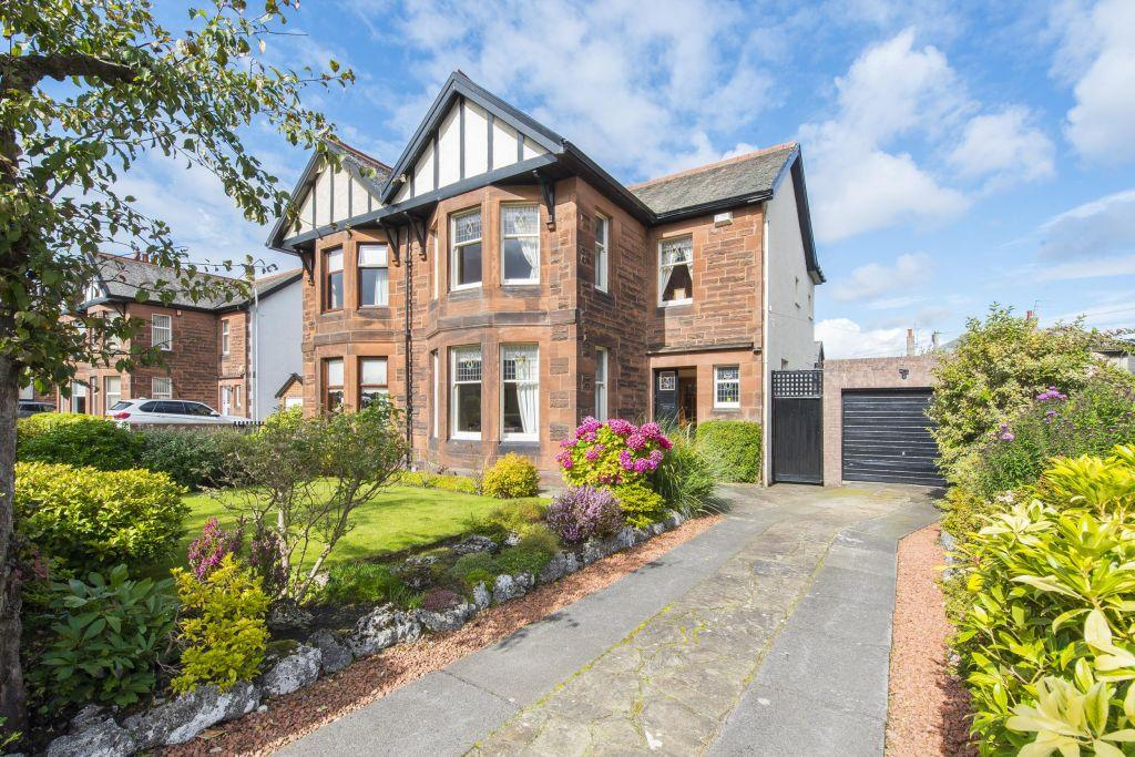 3 Bedrooms Villa House for sale in 18 Albert Drive, Rutherglen, Glasgow, G73 3RT