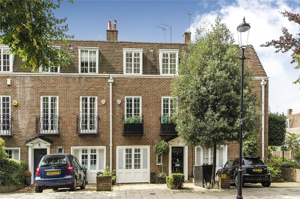 4 Bedrooms Terraced House for sale in Abbotsbury Road, London, W14