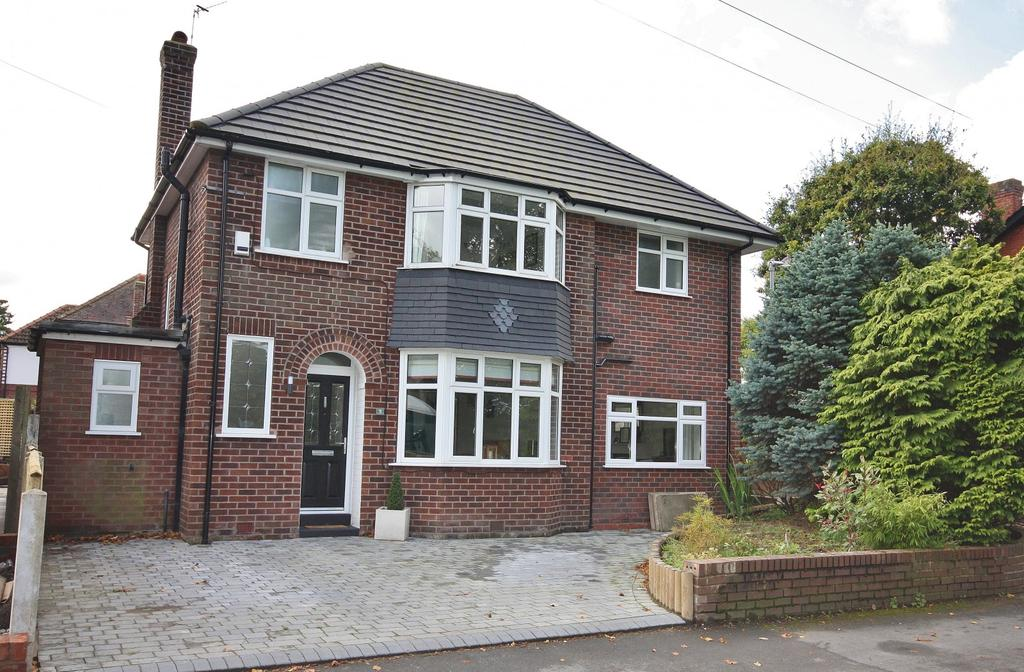 4 Bedrooms Detached House for sale in Gravel Lane, Wilmslow