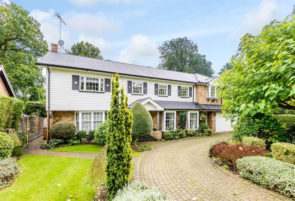 5 Bedrooms Detached House for sale in Lower Plantation, Loudwater, Rickmansworth, Hertfordshire, WD3