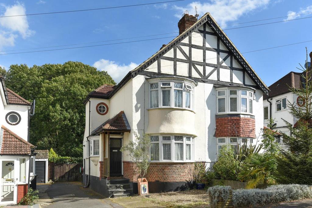 2 Bedrooms Semi Detached House for sale in Birch Tree Avenue, West Wickham