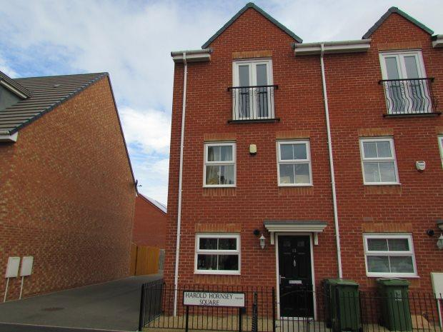 4 Bedrooms Terraced House for sale in HAROLD HORNSEY SQUARE, RABY ROAD, HARTLEPOOL