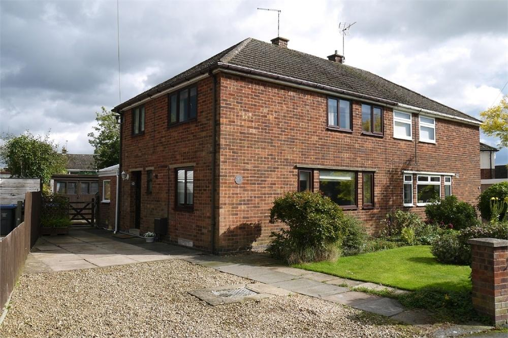 3 Bedrooms Semi Detached House for sale in De Verdon Road, Lutterworth, Leicestershire