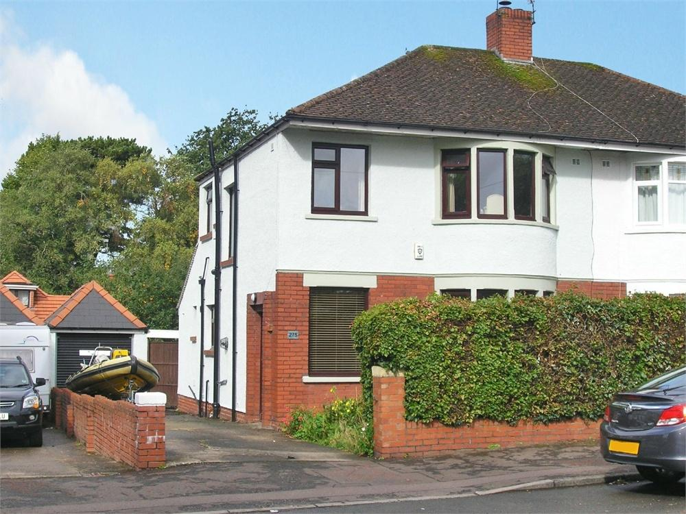 3 Bedrooms Semi Detached House for sale in Allensbank Road, Heath, Cardiff