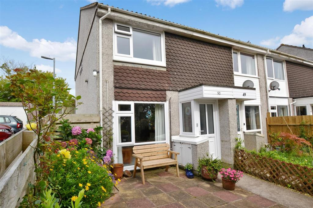 2 Bedrooms End Of Terrace House for sale in Messack Close, Falmouth