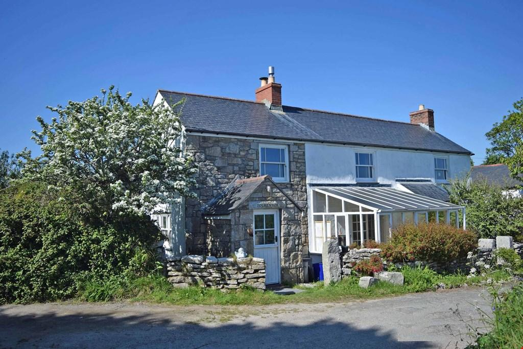 4 Bedrooms Detached House for sale in Breage, Helston, Cornwall , TR13
