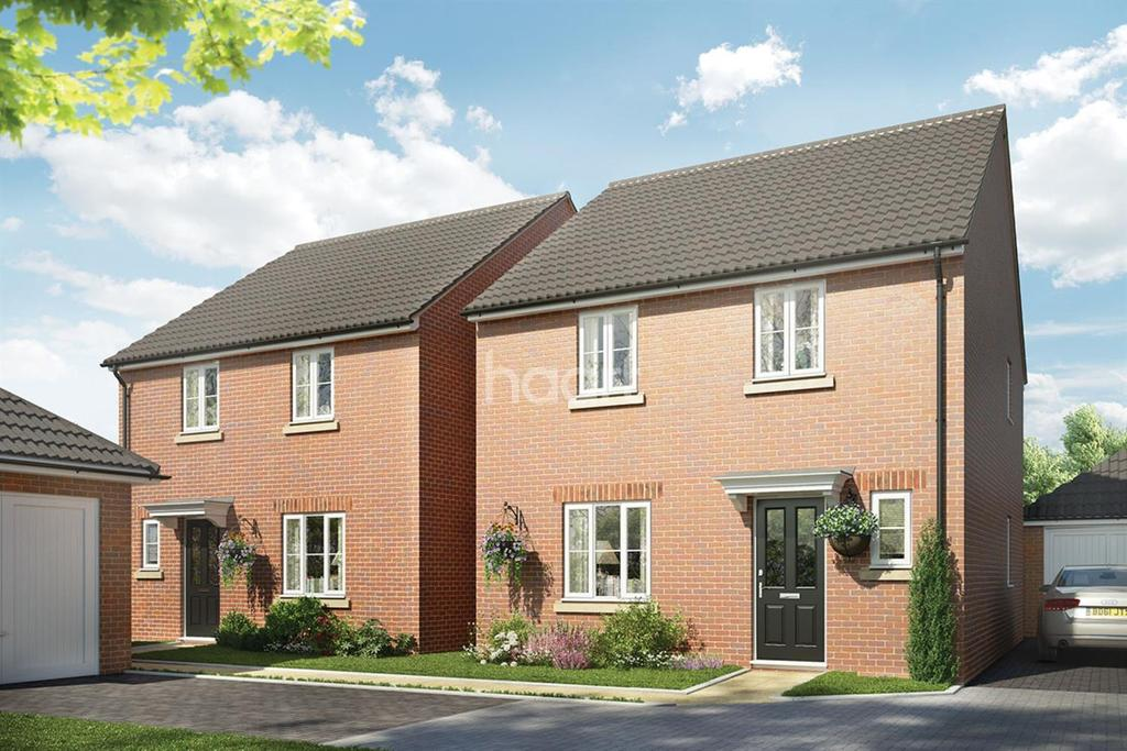 4 Bedrooms Detached House for sale in The Kelmarsh, Saxon Fields