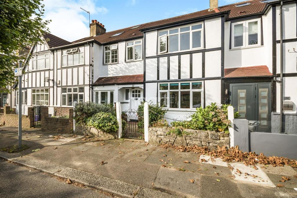 3 Bedrooms Terraced House for sale in Merton Hall Gardens, West Wimbledon, London, SW20