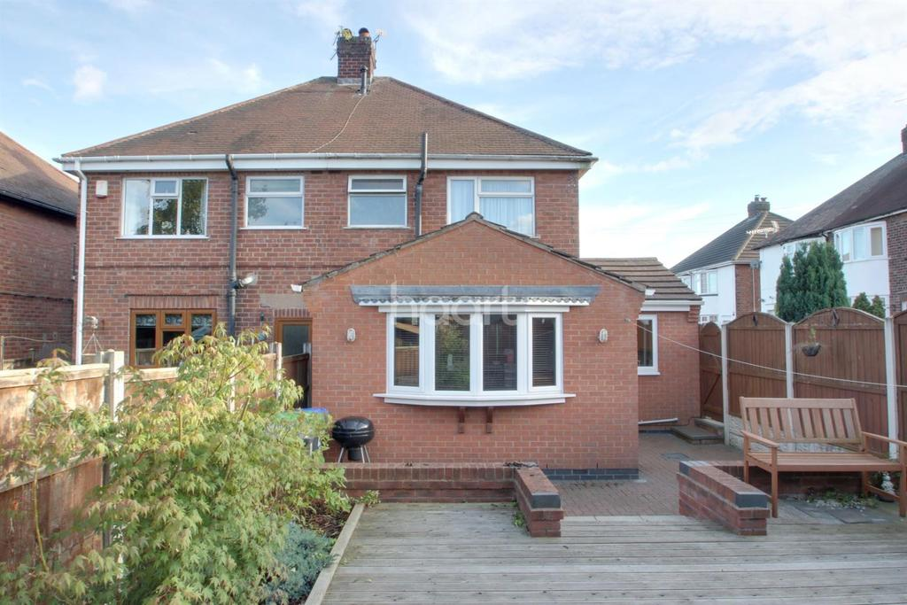 2 Bedrooms Semi Detached House for sale in Eric Avenue, Hucknall