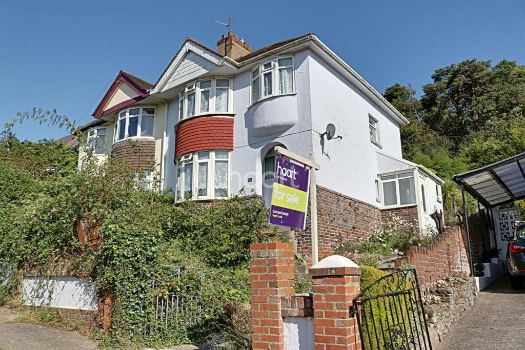 3 Bedrooms Semi Detached House for sale in Florida Road, Torquay