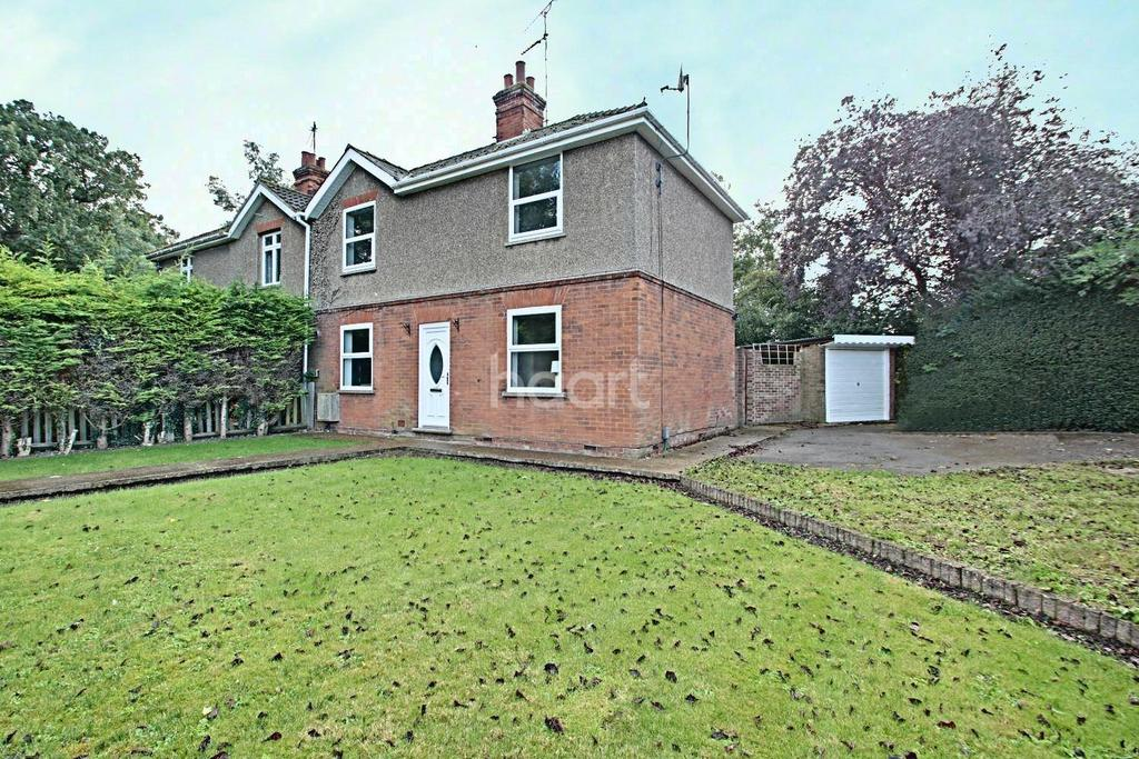 3 Bedrooms Semi Detached House for sale in Harecroft Road, Wisbech