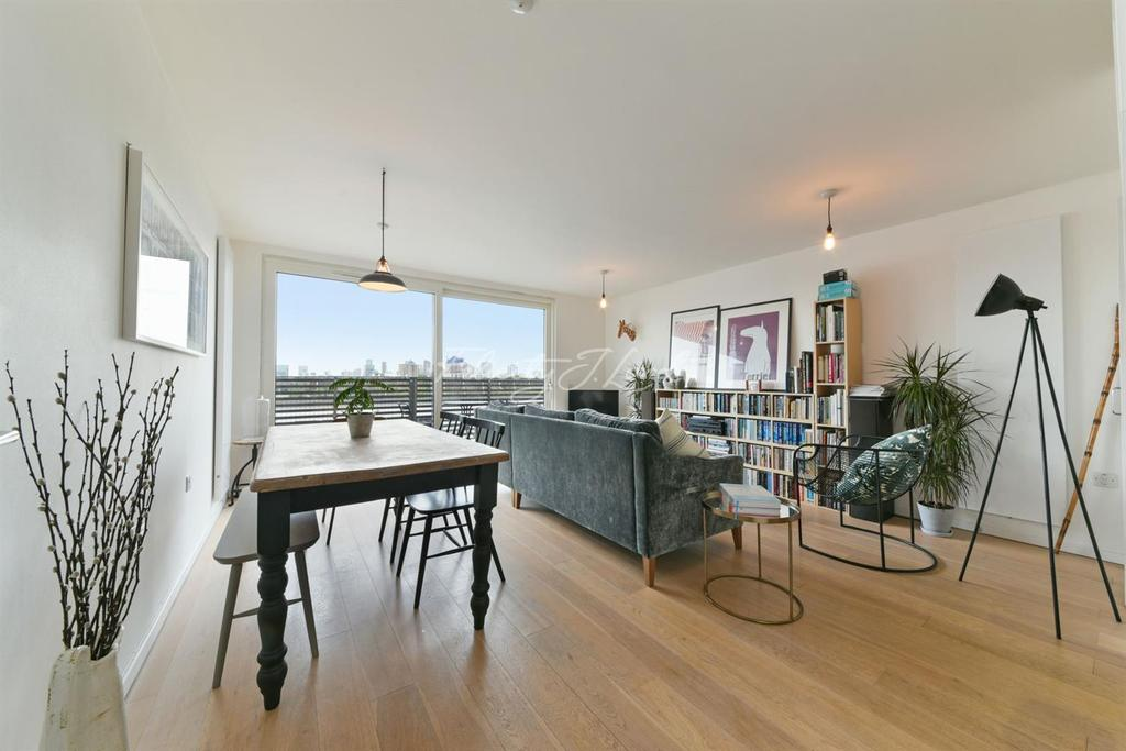 1 Bedroom Flat for sale in Reliance Wharf, Hertford Road, Islington, N1