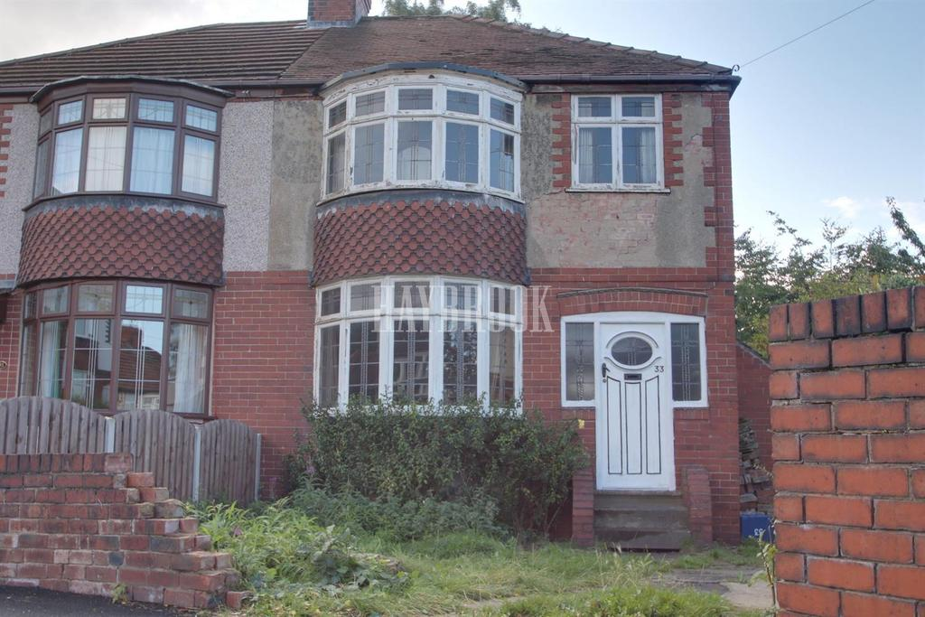 3 Bedrooms Semi Detached House for sale in Bentley Road, Chapeltown