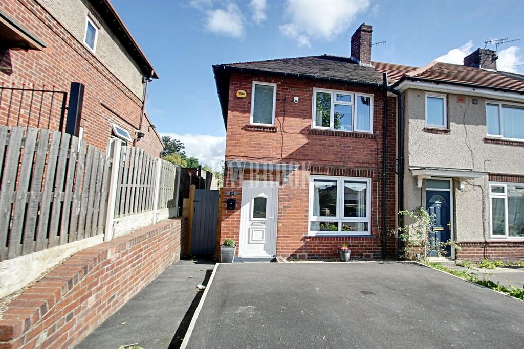 2 Bedrooms End Of Terrace House for sale in Owlings Road, Wisewood