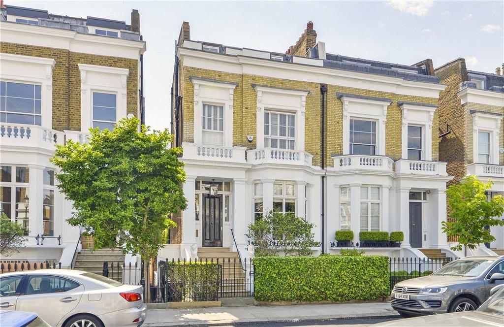 4 Bedrooms Semi Detached House for sale in Elm Park Road, Chelsea, London, SW3