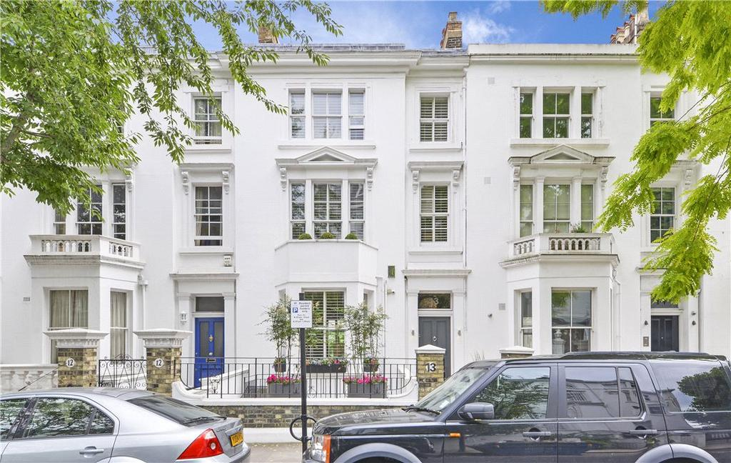 5 Bedrooms Terraced House for sale in Vicarage Gardens, Kensington, London, W8