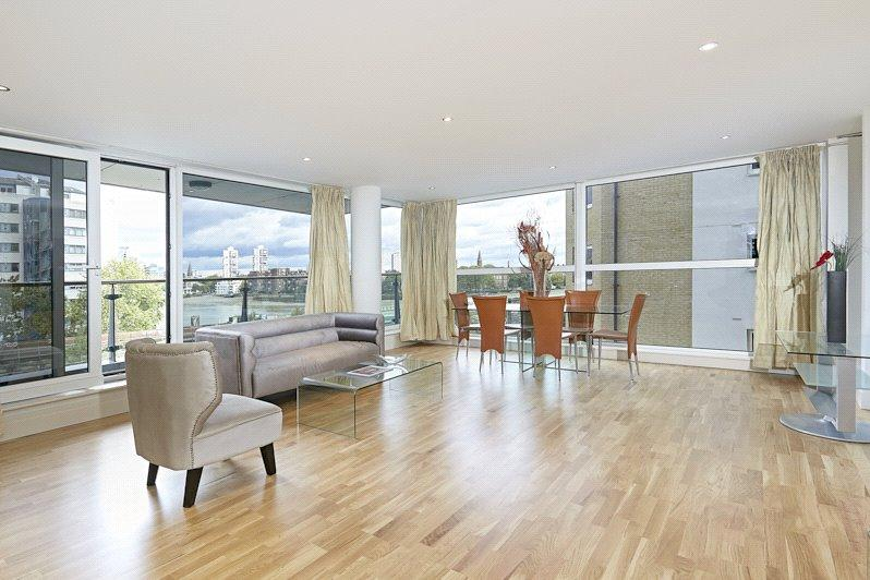 3 Bedrooms Flat for sale in Thames Point, The Boulevard, Imperial Wharf, London, SW6
