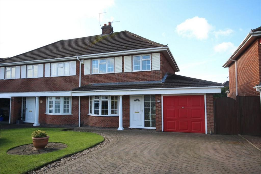 3 Bedrooms Semi Detached House for sale in Milby Drive, St Nicolas Park, Nuneaton, Warwickshire
