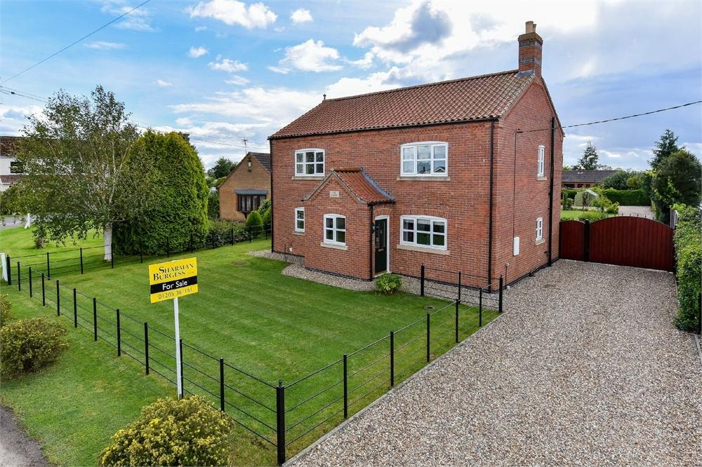 4 Bedrooms Detached House for sale in Church Lane, Wrangle, Boston, Lincolnshire