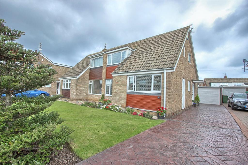 4 Bedrooms Semi Detached House for sale in Epping Close, Marske-by-the-Sea