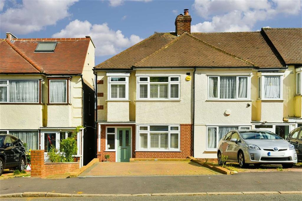 3 Bedrooms End Of Terrace House for sale in Garth Road, Morden, Surrey