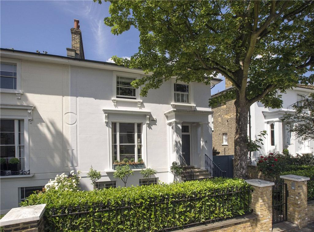 4 Bedrooms Semi Detached House for sale in Clifton Hill, St John's Wood, London, NW8